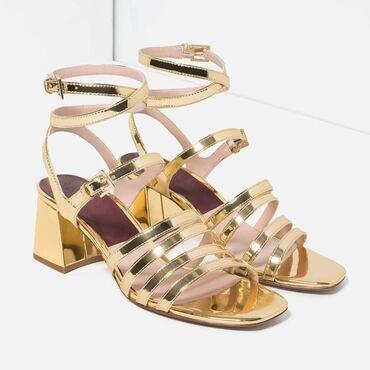 Zara Trafaluc zlatne Broj 38Savršeno očuvaneViše slika na mom profilu