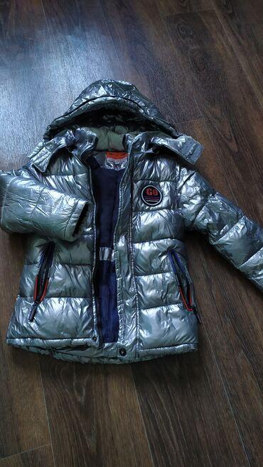 Куртка на мальчика!Размер 116(это на возраст 6-7 лет)Состояние