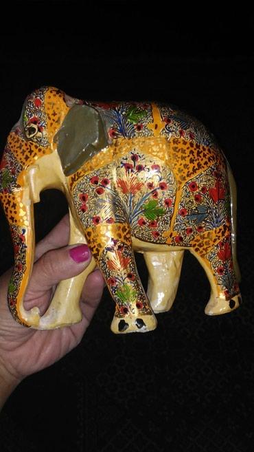 деревянная мозаика в Азербайджан: Деревянный слоник 25м