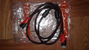 hdmi kabel в Кыргызстан: Продаю кабель HDMI (новый) длиной 3 метра