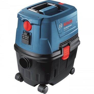 Пылесос Bosch GAS 15 PC Применятся для влажной и сухой уборки в