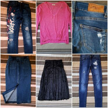 Suknje, džemperi, bluze farmerke i mnogo toga pi super cenama