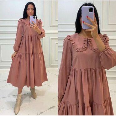 фасоны узбекских платьев в Кыргызстан: Тренд 2021  Размер :S,ml