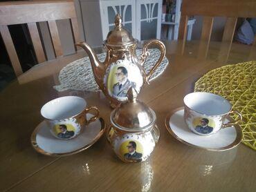 Čajnici | Srbija: Set soljice sa Titovim likom