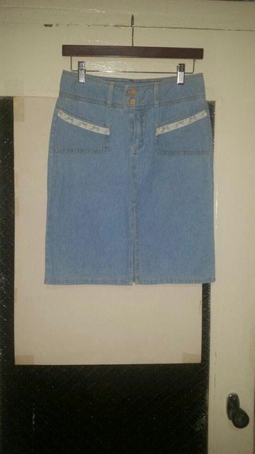 брюки джинсы комбинезоны в Азербайджан: Юбка( тонкий джинс) ( США)