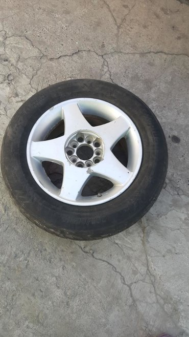 шины и диски в Кыргызстан: Р15 продаю . 4 шт комплект шины и диски . Сост. Обычное поставил