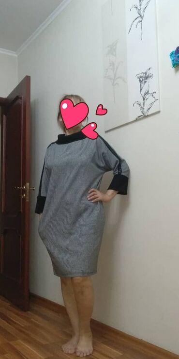 тунику платье в Кыргызстан: Продаю платье тунику, производства Турции, в отличном состоянии, 48 р