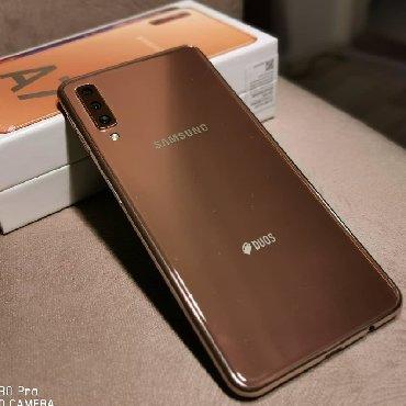 Samsung c6112 duos - Srbija: Upotrebljen Samsung Galaxy A7 2018 64 GB zlatni