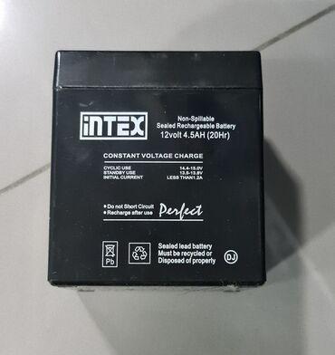 Аккумуляторная батарея intex 12v 4.5ah