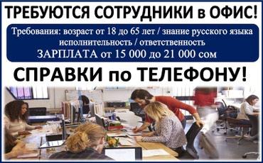 В логистическую компанию требуются в Бишкек