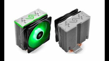 Куллер для процессора Gammax GT RGB крепление для интел в Бишкек