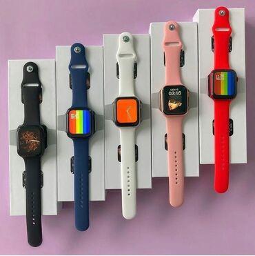 тайп си наушники в Кыргызстан: Смарт часы Скидка! Watch Seria 6 полный экран.     Смарт часы, смарт ч