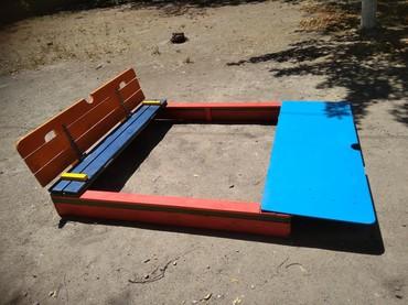 детское кресло эрго в Кыргызстан: Детские деревянные песочницы! любые размеры, любая расцветка. много