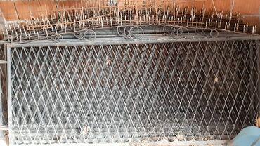 Strug za metal - Srbija: Ograda za dvoriste 10 komada,dimenzije: 2,10x1,20