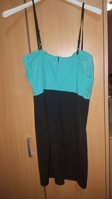 Haljine   Kostolac: Nova haljina, crno-zelena