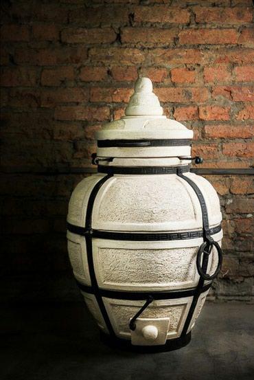 """Тандыр """"Большой"""" Изготовлен из шамотной глины. Толщина стенки 6см. Выс"""