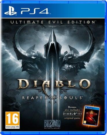 Bakı şəhərində Ps4 ucun Diablo oyunu teze upokovkada orginal catdirilma pulsuz