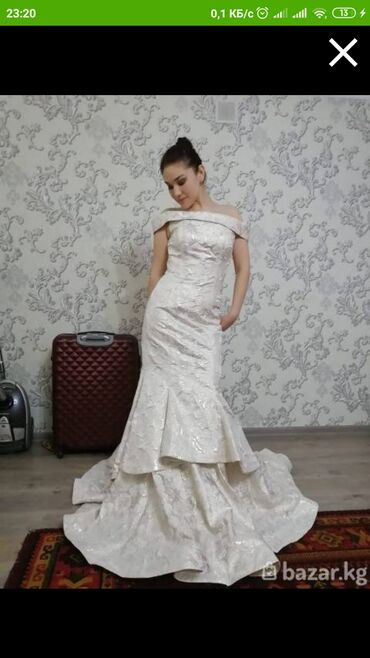 Свадебное платье! Производство:Турция Торг.возможна