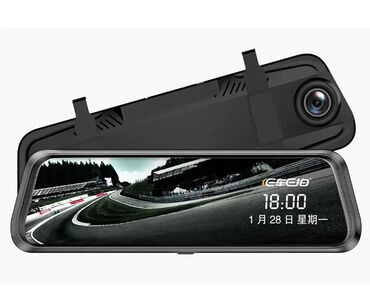 Videoregistrator Güzgü Car DVR Anytek E92 İki Kameralı çəkiliş