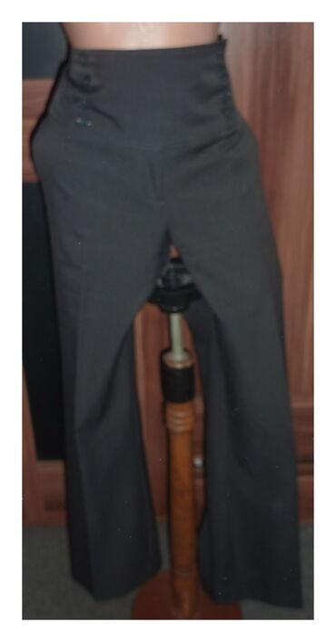 Elegantne pantalone - Srbija: F&F SIVE ELEGANTNE PANTALONE VEL 42struk 41cmbokovi 58cmdubina