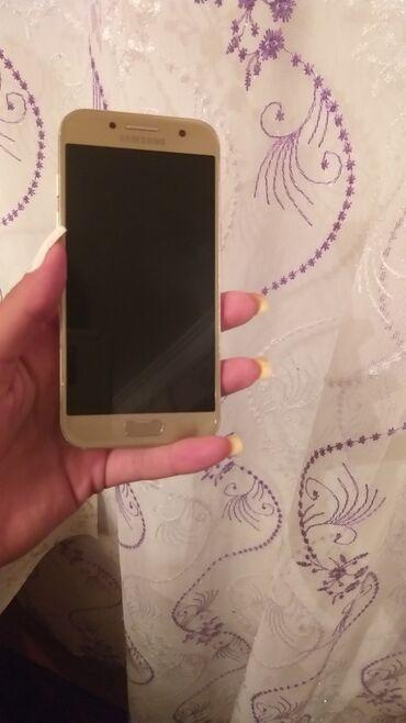 Elektronika Gədəbəyda: İşlənmiş Samsung Galaxy A3 2017 16 GB qızılı