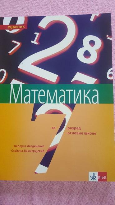 7 raz. matematika udzbenik klett nov - Sremska Mitrovica