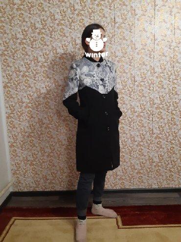 вязание пальто кардиганы пончо в Кыргызстан: Пальто деминовая,размер 44-46
