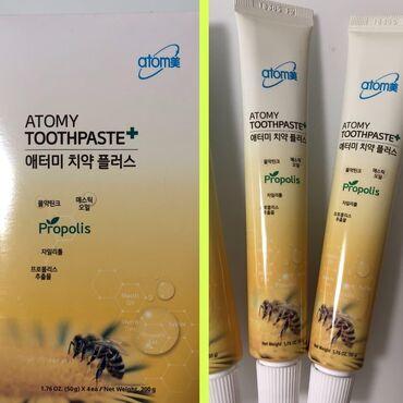 Уход за телом в Кок-Ой: Зубная пастаAtomyПаста ATOMY Toothpaste на основе прополиса прекрасно