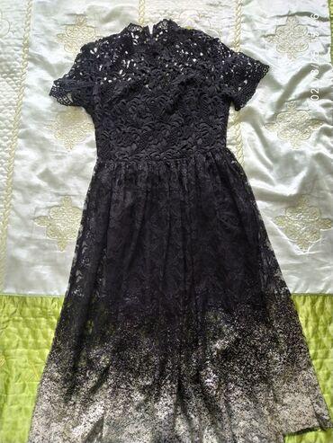 блестящее черное платье в Кыргызстан: Продаю б/у платья (42,44р) в отличном состоянии, надевались пару