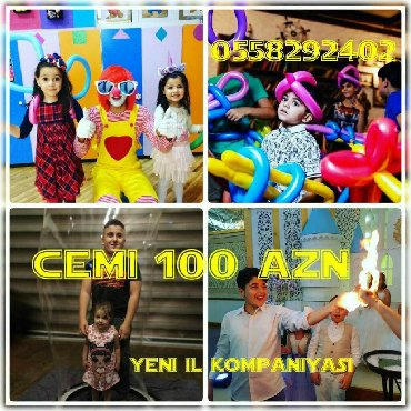 panda sou - Azərbaycan: Tədbirlərin təşkili | Alov şou