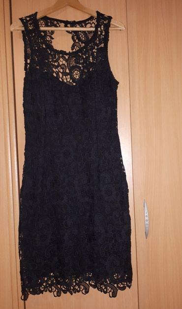 Na prodaju crna haljina sa cipkom, velicina S. Cena je 700din. - Pozarevac
