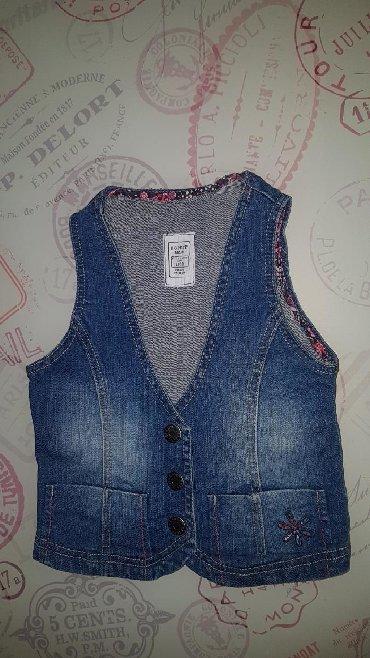 Dečije jakne i kaputi | Paracin: Prsluk texas original kvalitetan zanimljiv,velicina 4-5 ali moze