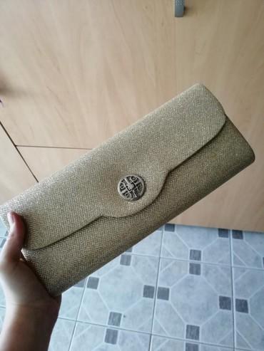 Pismo torbica sa šljokicama, kao nova - Obrenovac