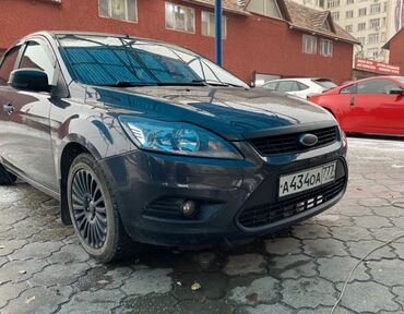 черный ford в Кыргызстан: Ford Focus 2 л. 2010   196 км