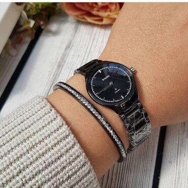 Керамические часы с японским кварцевым механизмом. Застежка английская