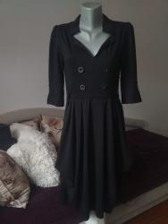 Italijanska crna haljina XL  - Kraljevo