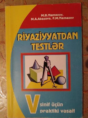 namazov - Azərbaycan: RİYAZİYYAT Namazov 5ci sinif test