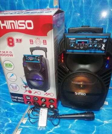Elektronika - Pozarevac: 6000dinFantastičan Veliki Veoma Snažan Prenosivi Karaoke Bluetooth