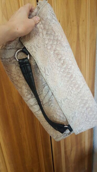 сумка в Кыргызстан: Сумка шоппер клатч б/у много карманов шопер сумочка
