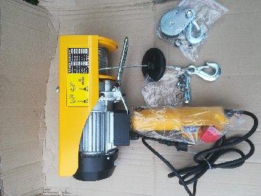 Dizelica elektricna vrabac 125-250kg turske proizvodnje, sa sajlom od