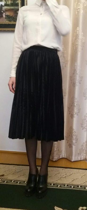 "Очень красивая юбка плиссе фирма""gizzia"",новая!Размер s!"