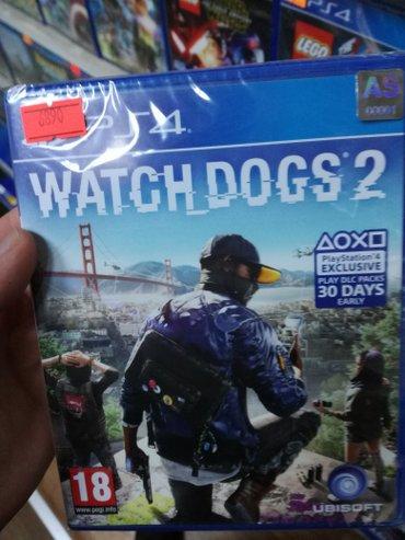 Bakı şəhərində Watch dogs 2 ps4