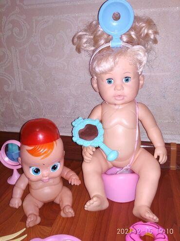 Многофункциональная кукла .Кукла гелиевая, кушает, пьет воду в горшок