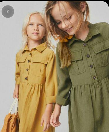купальник на девочку 13 лет в Кыргызстан: Zara платье на девочку. Размер 13-14 лет. Выход один раз