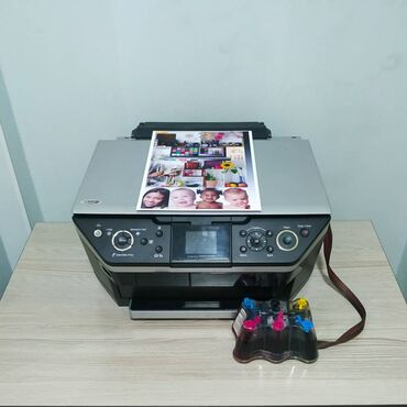 туалетная бумага бишкек in Кыргызстан   КАНЦТОВАРЫ: 6 цветный принтер, 3в1, мфу, печатает, копирует, сканирует epson