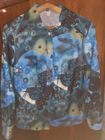 женские кардиганы травка в Азербайджан: Блуза женская. Новая. Размер 46. Цена 10манатов