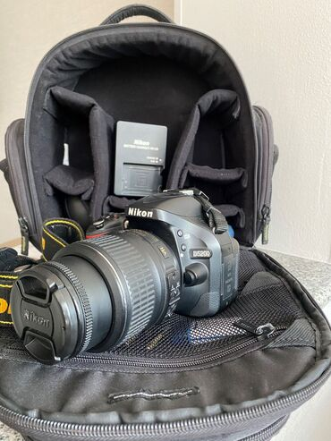 Продаю Nikon D5200 KitОбъектив: AF-S Nikkor 18-55mm 1:3.5-5.6GSD карта