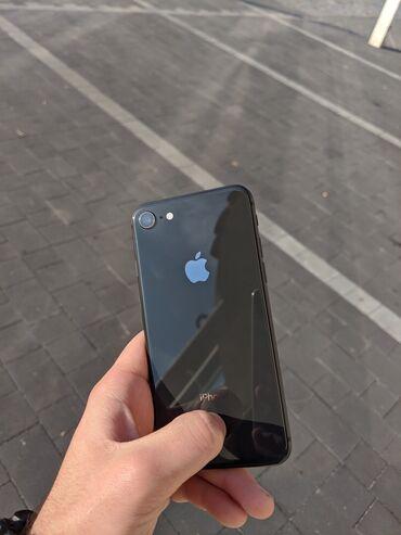 Электроника - Кыргызстан: Б/У iPhone 8 64 ГБ Черный