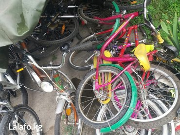 Велосипеды из Германии. б\У. новое поступление. от 7000с и выше. Есть  в Бишкек