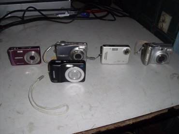 5 komada fotoaparata u stanju kako su stigli iz Nemacke. Neki pale, - Kraljevo